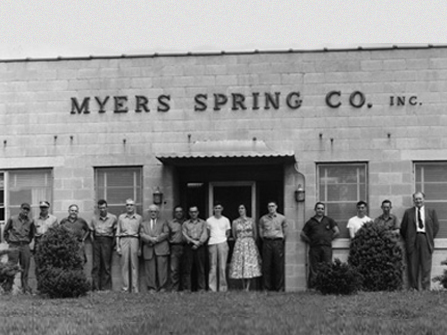 Myers Spring was started to produce fine wire precision springs.